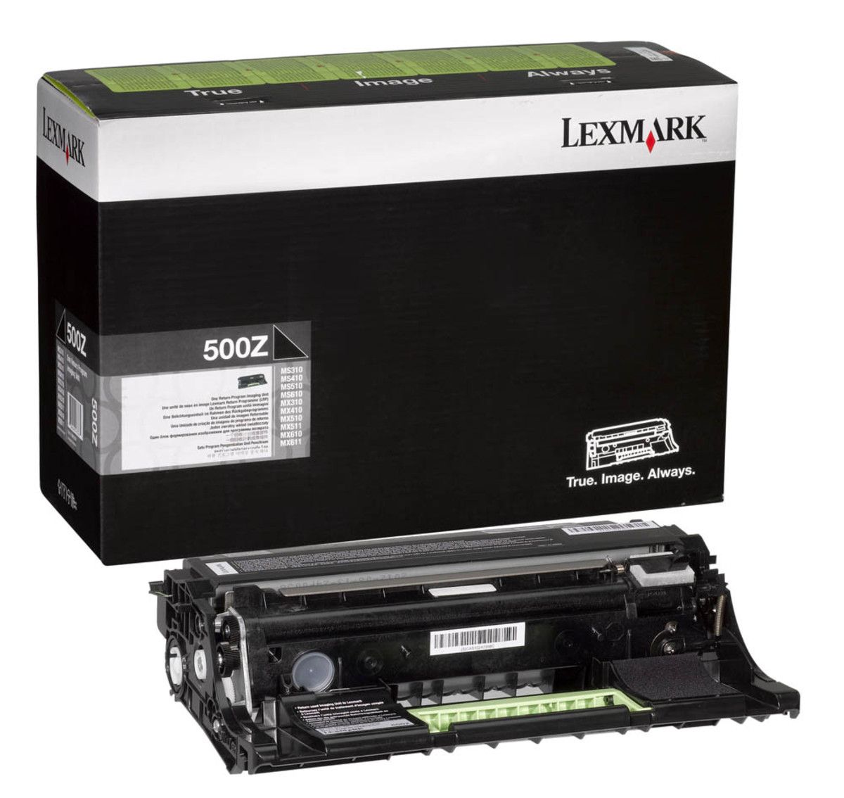 Lexmark 50F0Z00 Black Drum Unit