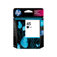 HP 45 (51645A) Black Ink Cartridge