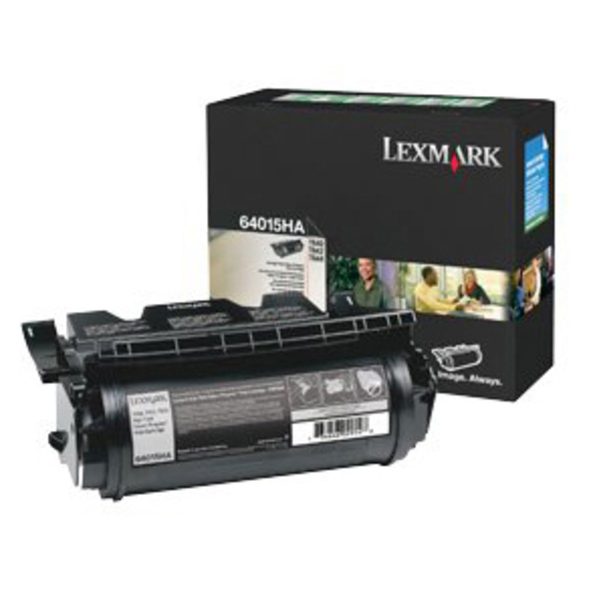 Lexmark 64017HR Black Prebate Toner Cartridge