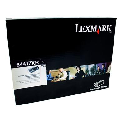 Lexmark 64417XR Black Toner Cartridge (Original)