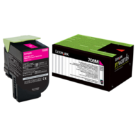 Lexmark 708M Magenta Toner Cartridge