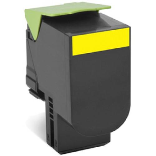 Lexmark 708Y Yellow Toner Cartridge (Original)