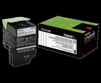 Lexmark 708H Black Toner Cartridge (Original)