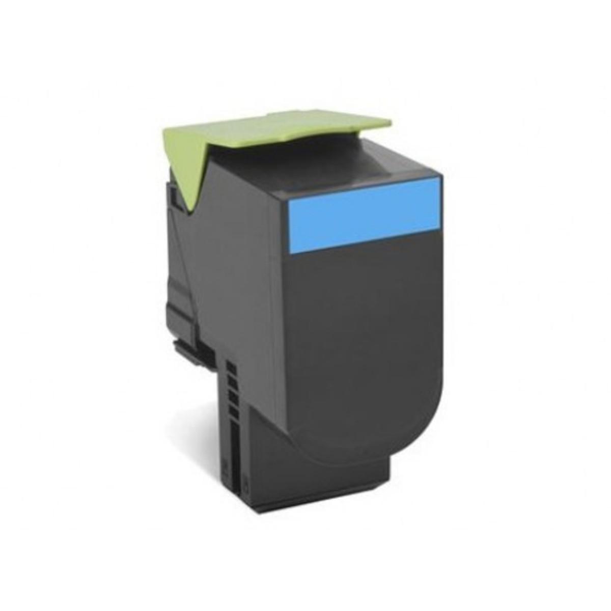 Lexmark 708XC Cyan Toner Cartridge - High Yield