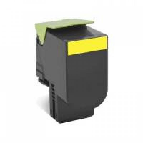 Lexmark 708X Yellow Toner Cartridge (Original)