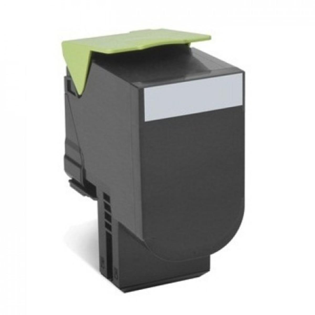 Lexmark 808HK Black Toner Cartridge - High Yield