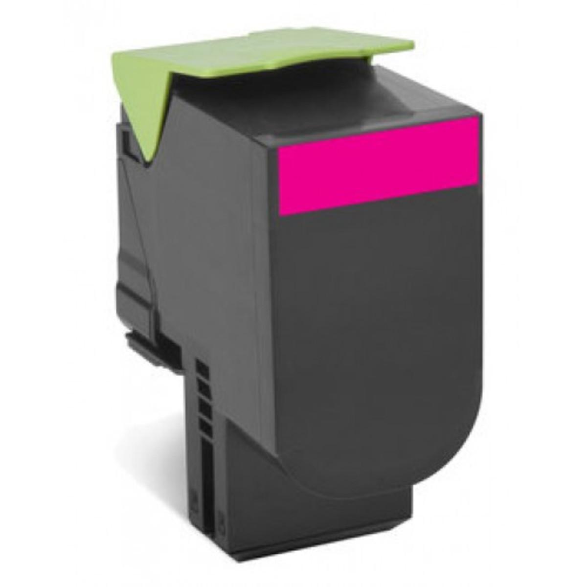 Lexmark 808HM Magenta Toner Cartridge - High Yield