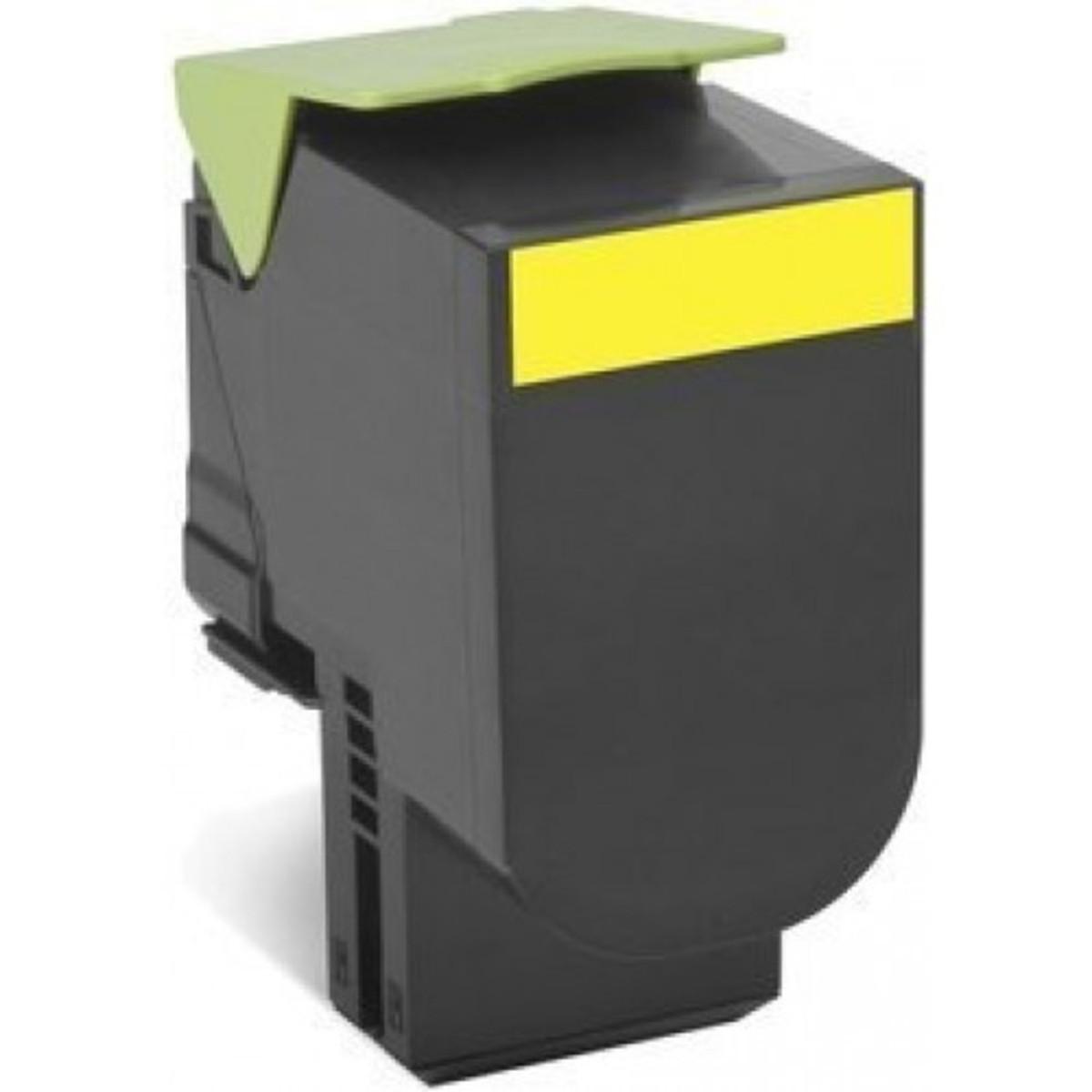 Lexmark 808HY Yellow Toner Cartridge - High Yield