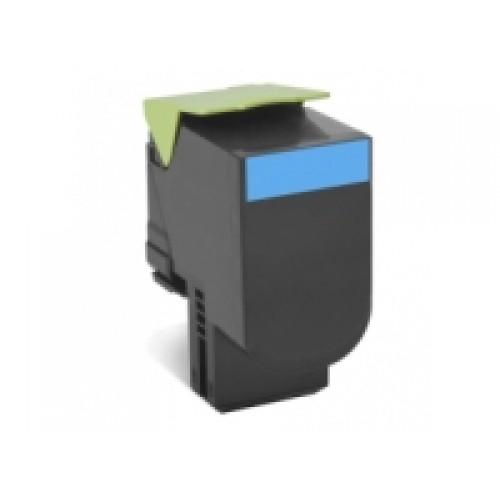 Lexmark 808S Cyan Toner Cartridge (Original)