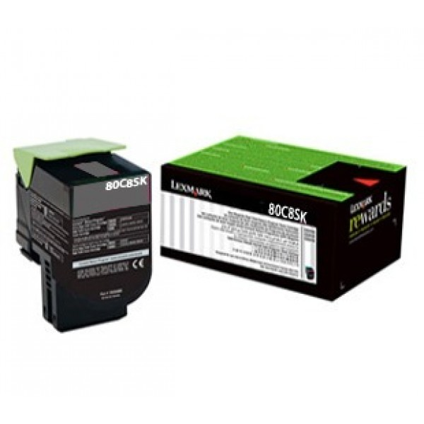 Lexmark 808S Black Toner Cartridge (Original)