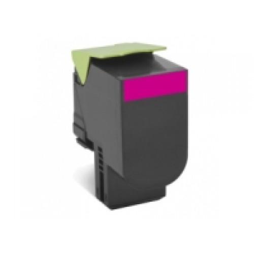 Lexmark 808S Magenta Toner Cartridge (Original)