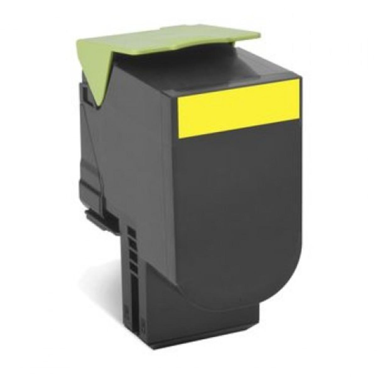 Lexmark 808SY Yellow Toner Cartridge