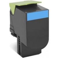 Lexmark 808XC Cyan Toner Cartridge - High Yield