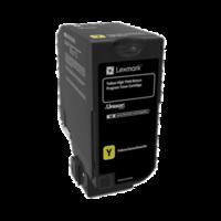 Lexmark 84C6HY0 Yellow High Yield Return Program Toner Cartridge
