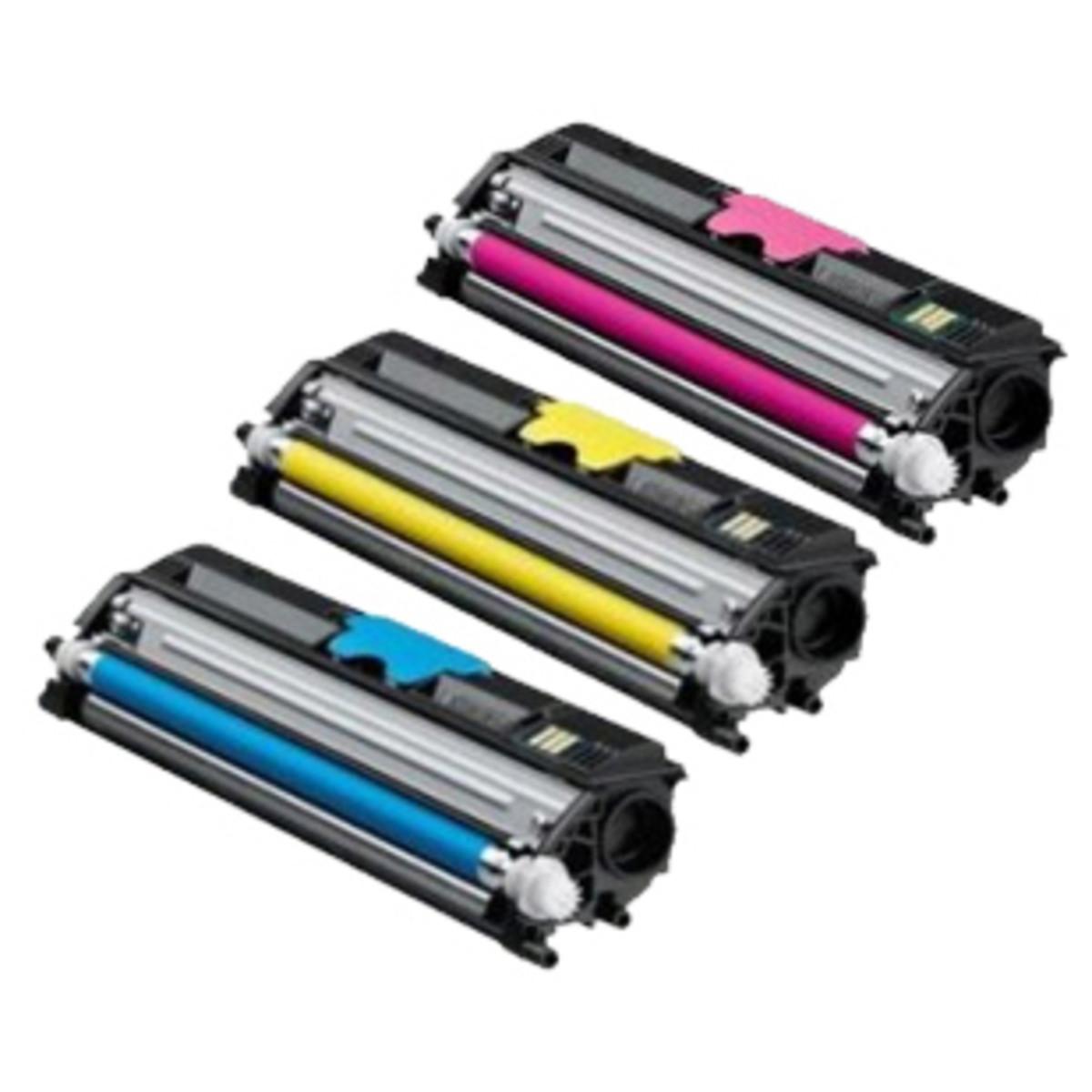Konica Minolta A0DKJ92 Toner Cartridges - Value Pack