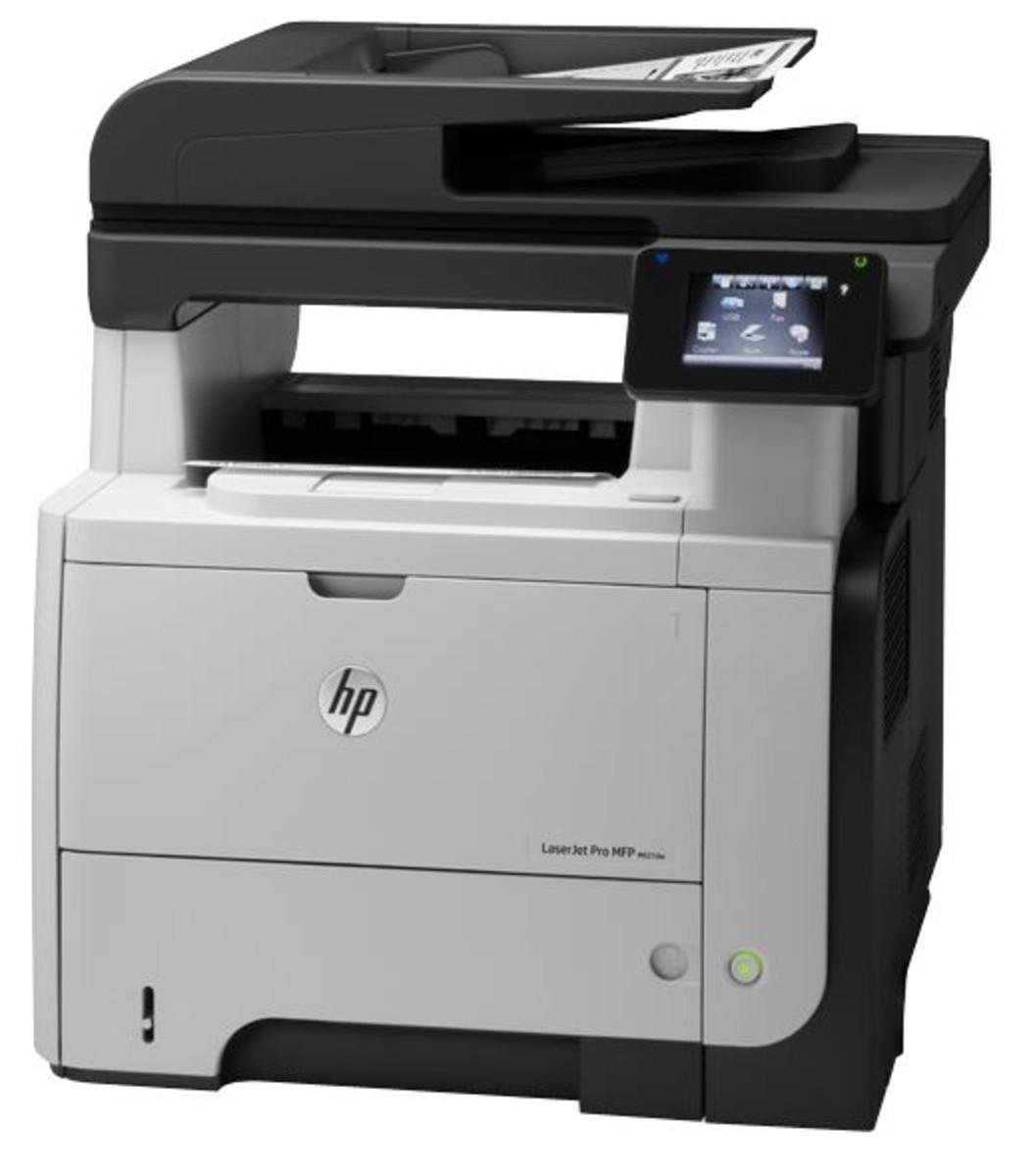 HP LaserJet Pro 500 M521dw Mono-Laser Printer