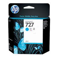 HP 727 Cyan Ink Cartridge (Original)