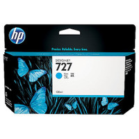 HP 727 (B3P19A) Cyan Ink Cartridge - 130ml