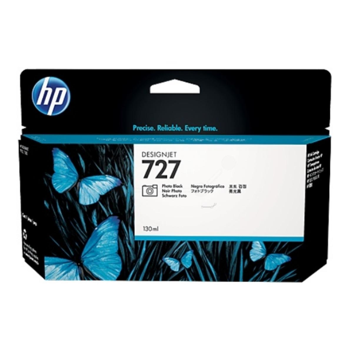 HP 727 (B3P23A) Photo Black Ink Cartridge - 130ml