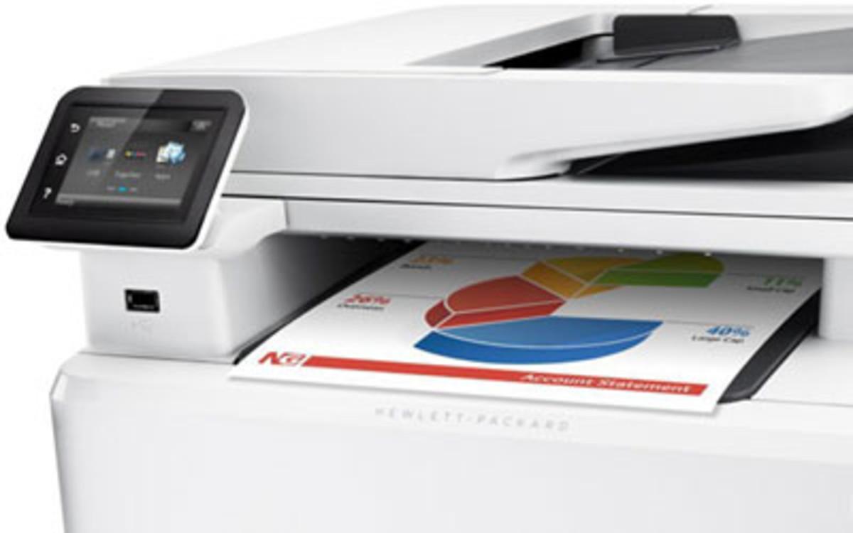 Hewlett Packard M277DW Colour Laser Printer
