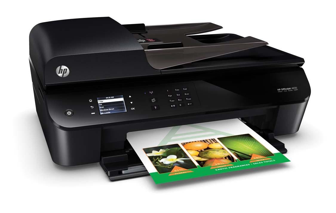 HP Officejet 4630 Inkjet Printer