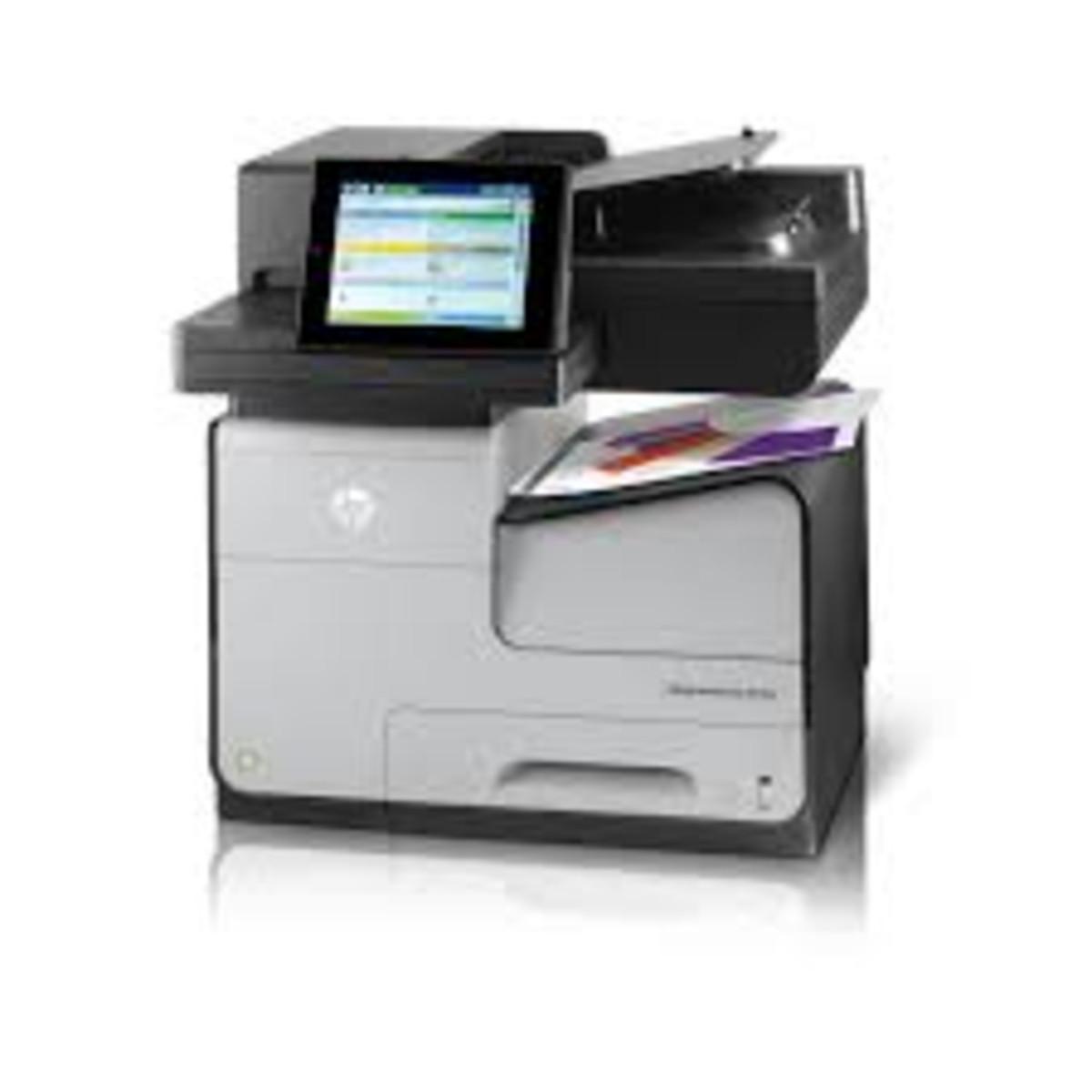 HP Officejet Enterprise Colour Flow X585z Multifunction Printer