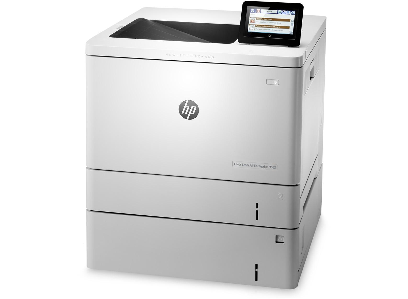 HP Laserjet M553x Laser Printer