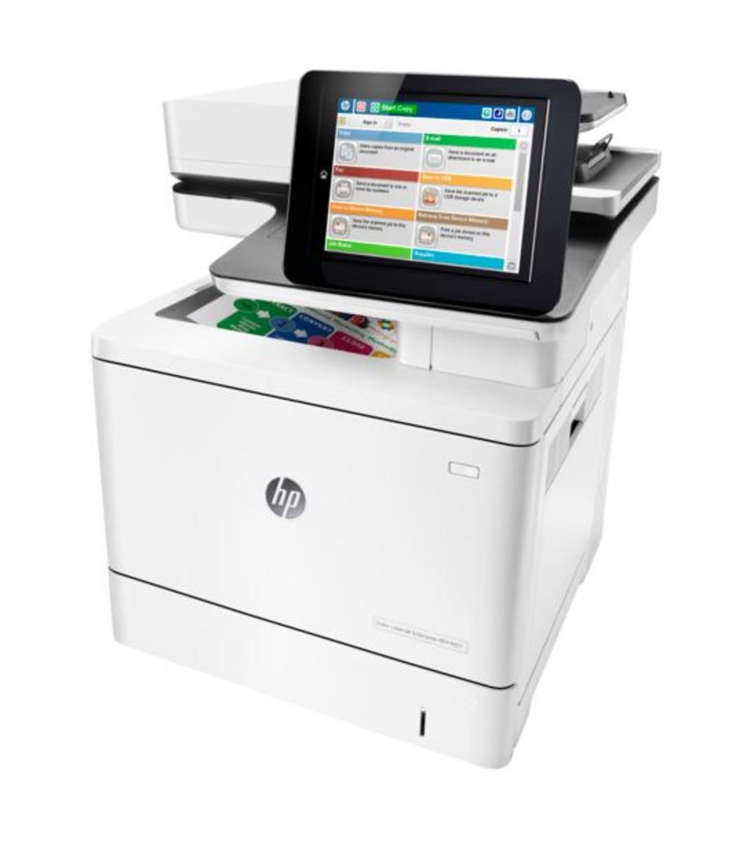 HP LaserJet Enterprise M577dn Colour Printer