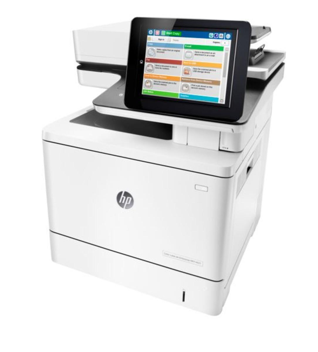 HP LaserJet Enterprise M577f Colour Printer