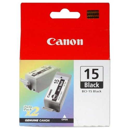 Canon BCI15BK Black Ink Cartridge (Original)