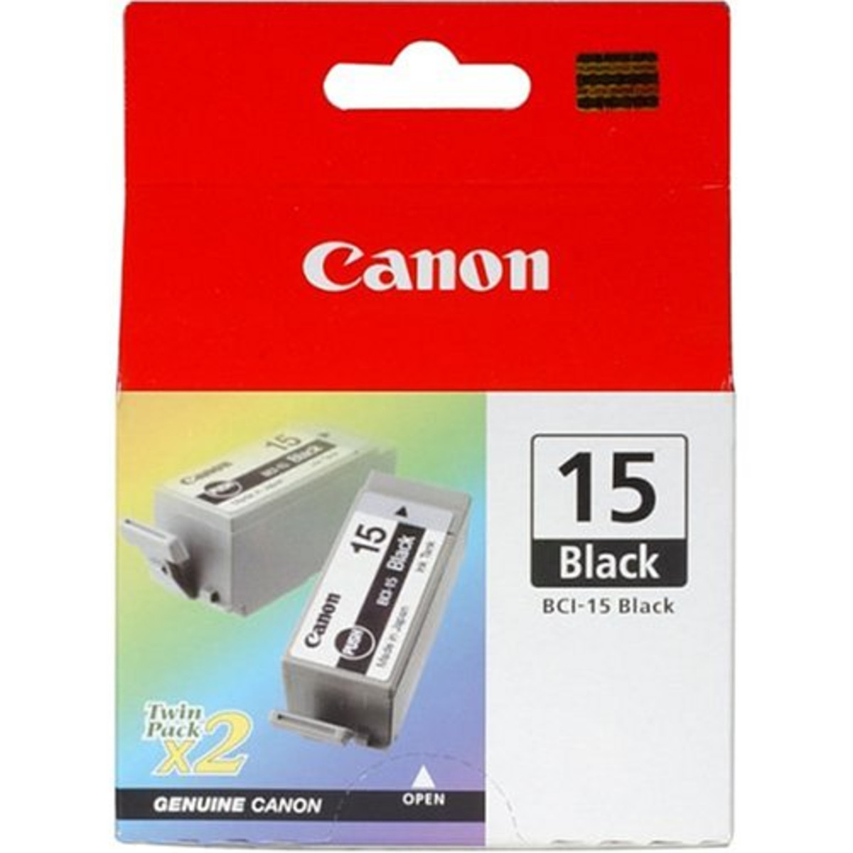 Canon BCI-15C Colour Ink Tank - Twin Pack