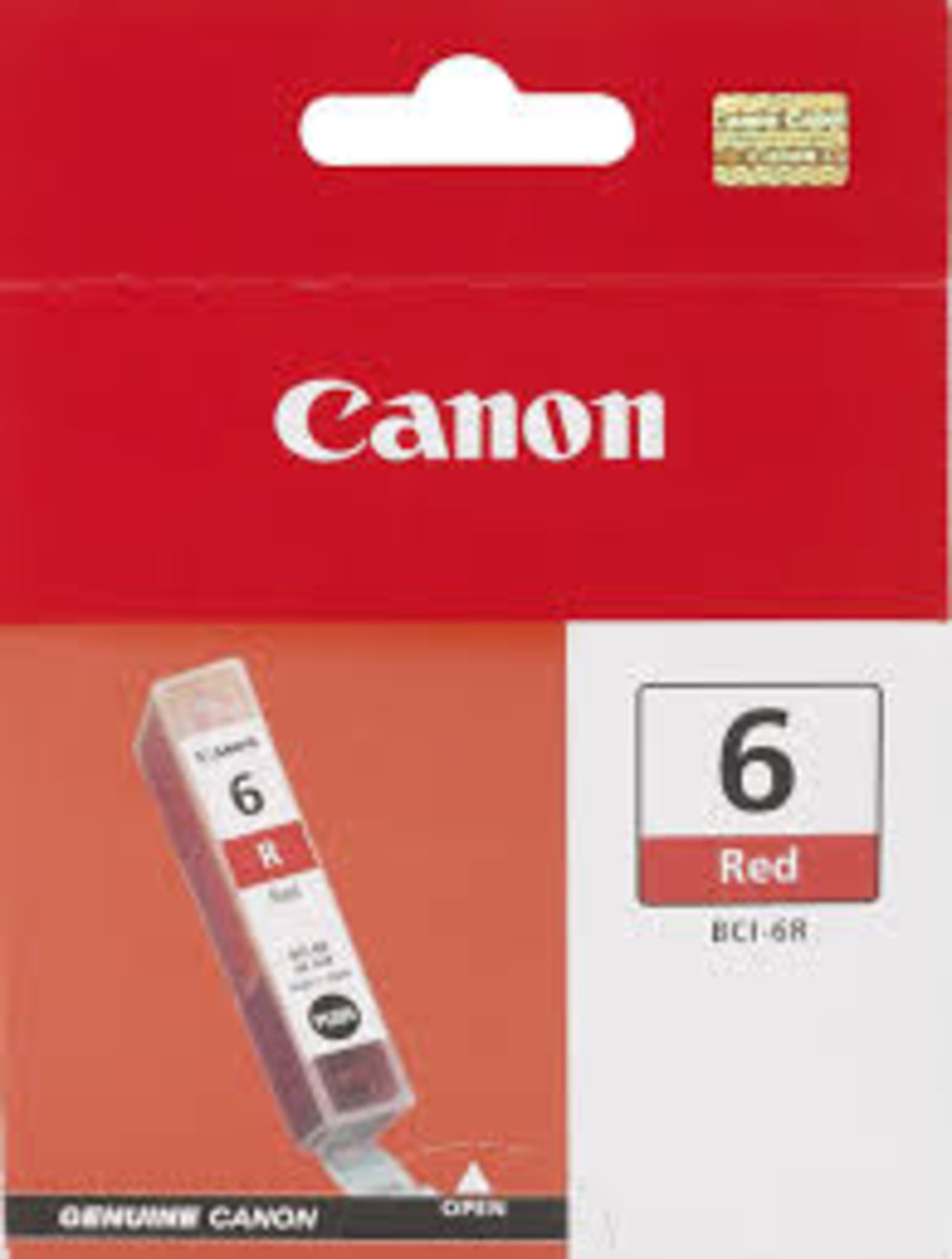 Canon BCI-6R Red Ink Tank