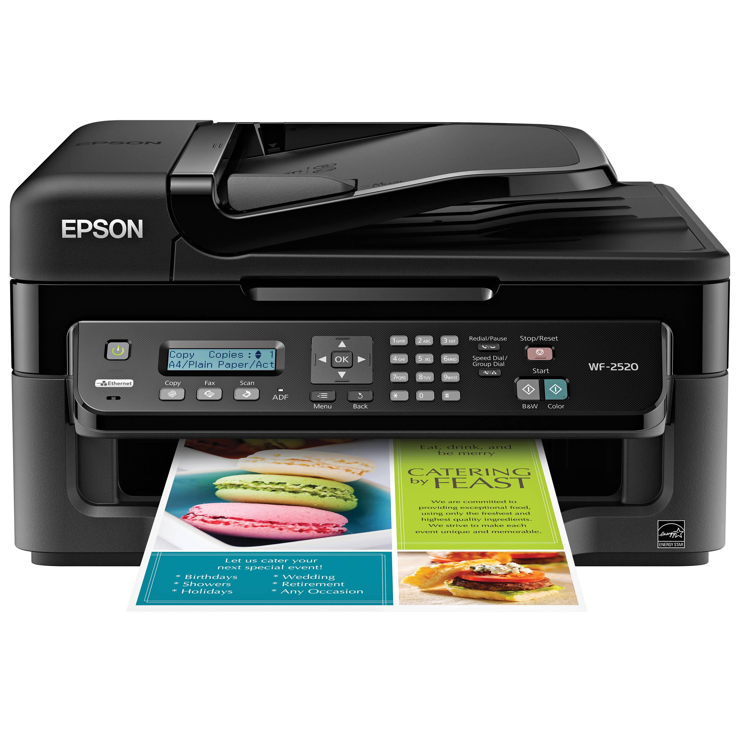 Epson WorkForce WF2520 Inkjet Printer