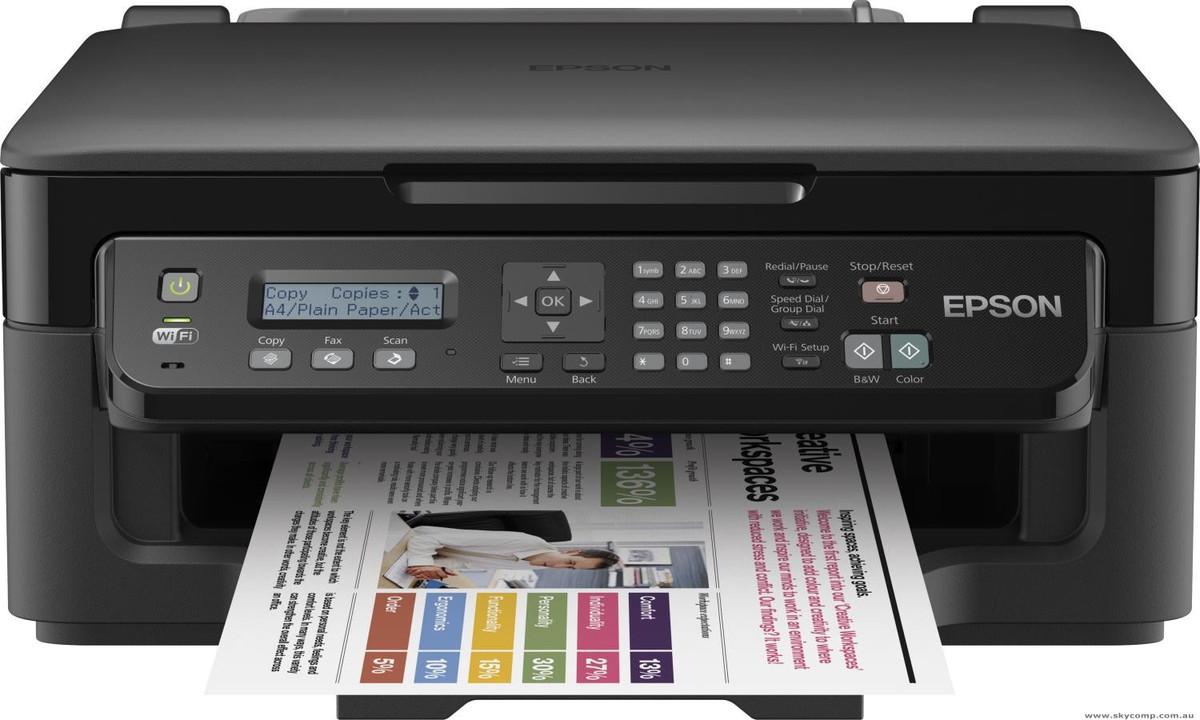 Epson WorkForce WF2510 Inkjet Printer
