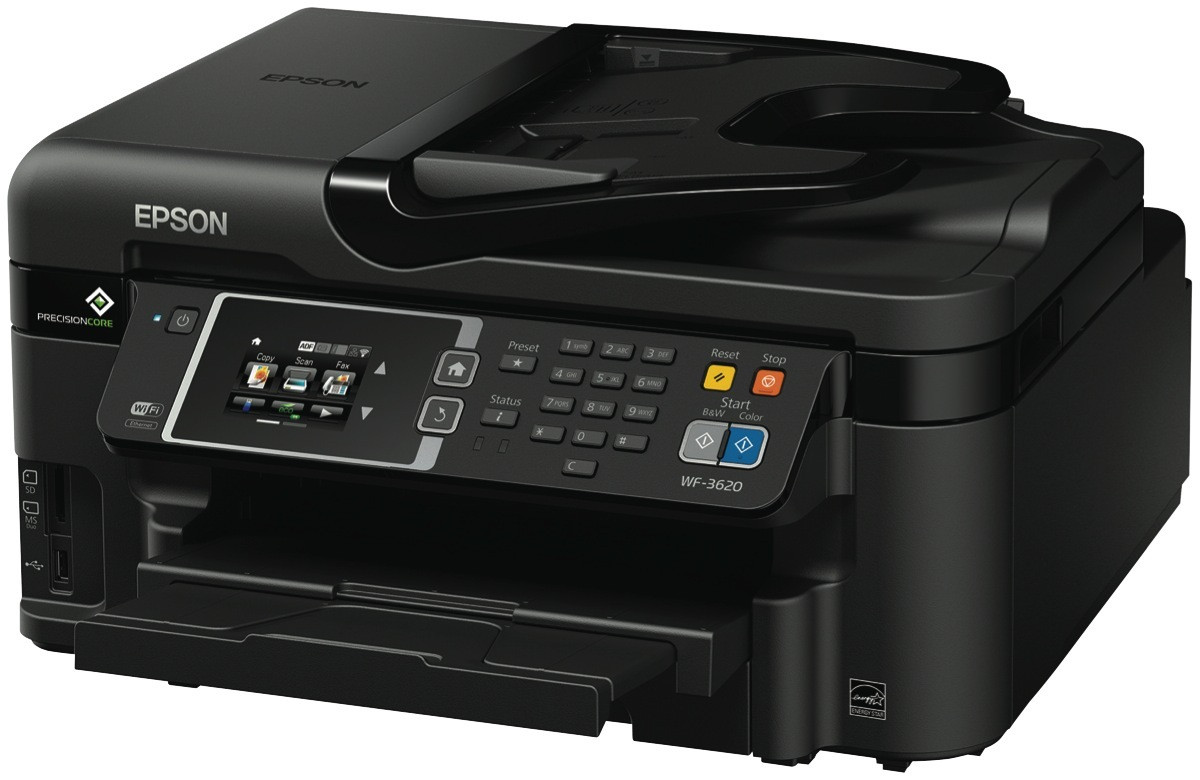 Epson WorkForce WF-3620 Inkjet Printer