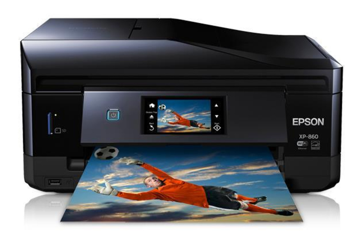 Epson XP-860 Inkjet Printer