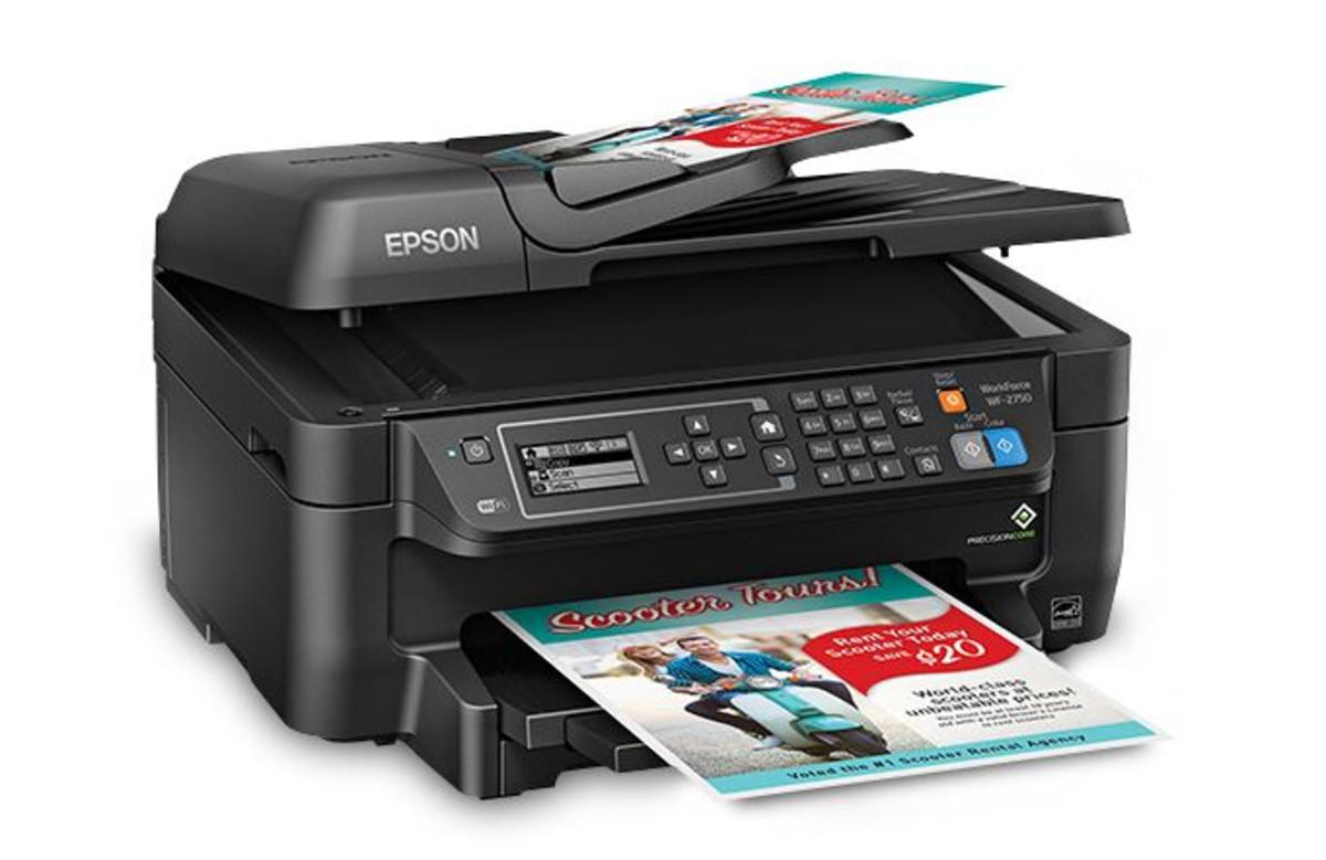 Epson WF 2750 Inkjet Printer