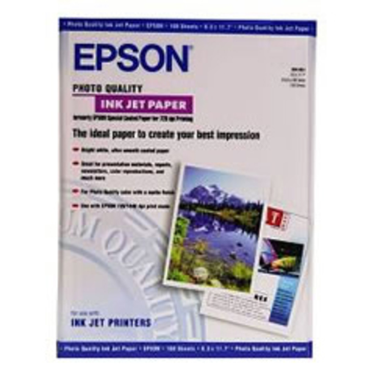 Epson Photo Quality Paper (A3, 102gsm)