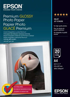 Epson Premium Glossy Photo Paper (A4, 255gsm) - 20 Sheets