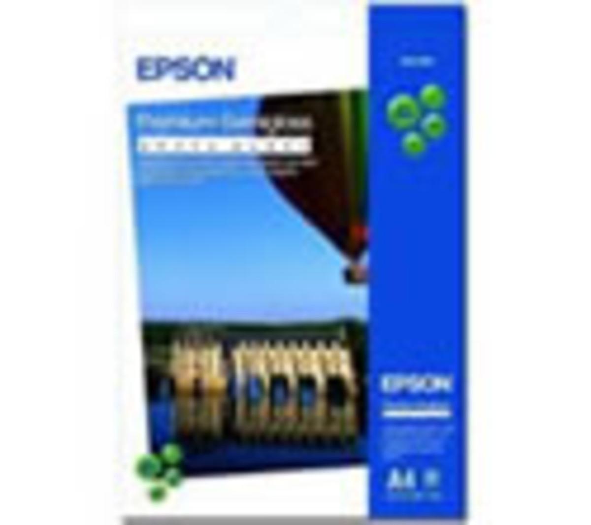 Epson Premium Semigloss Photo Paper A4 20 Sheets 251gsm