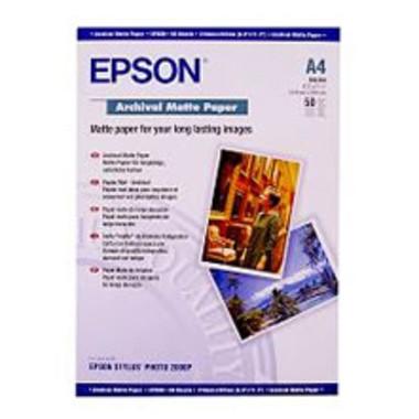 Epson Matte Archival Photo Paper (A4, 192gsm)