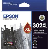Epson 302XL Black Ink Cartridge (Original)