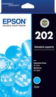 Epson 202 Cyan Ink Cartridge (Original)