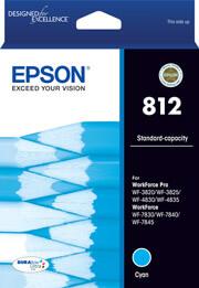 Epson 812 Cyan Ink Cartridge (Original)
