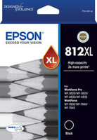 Epson 812XL DURABrite High Capacity Black Ink Cartridge