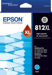 Epson 812XL Cyan Ink Cartridge (Original)