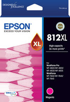 Epson 812XL DURABrite High Capacity Magenta Ink Cartridge