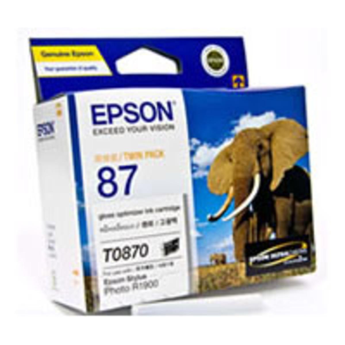 Epson 49 Gloss Optimiser Ink Cartridge