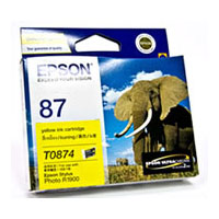 Epson 87 Yellow Ink Cartridge (Original)