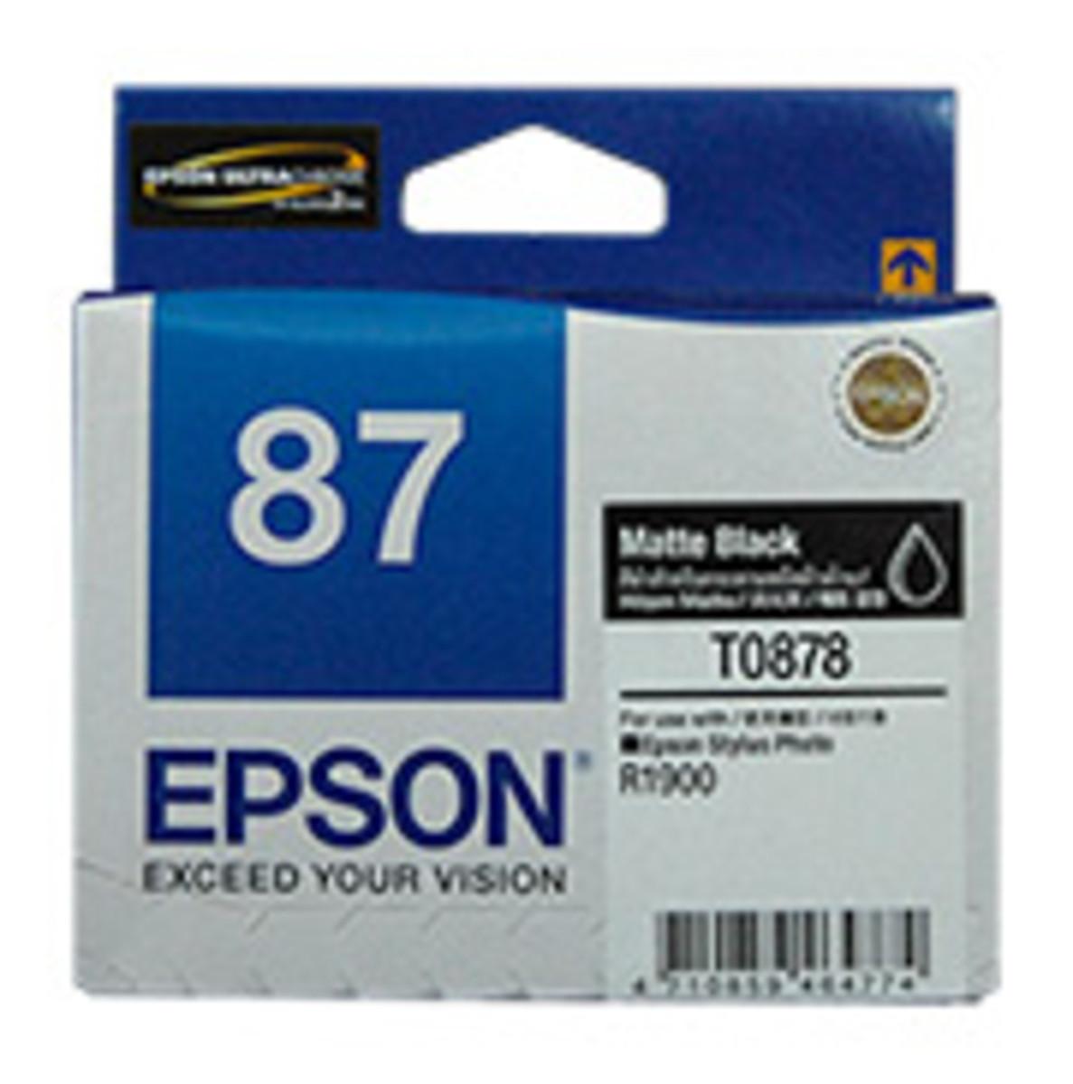 Epson 87 Matte Black Ink Cartridge